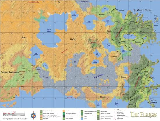SE Hèpekéria Map