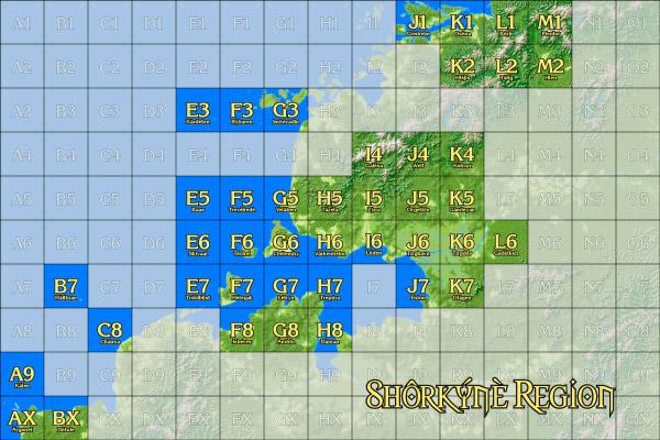 Shôrkýnè Regional Map