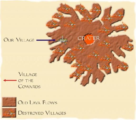 Village on a Volcano