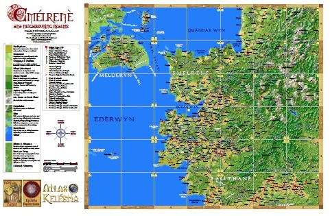 Emélrenè Map