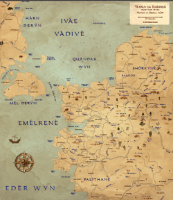 Emélrenè Poetic Map