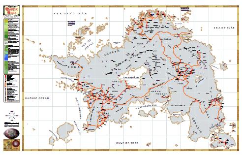 Hârn Map Greyscale