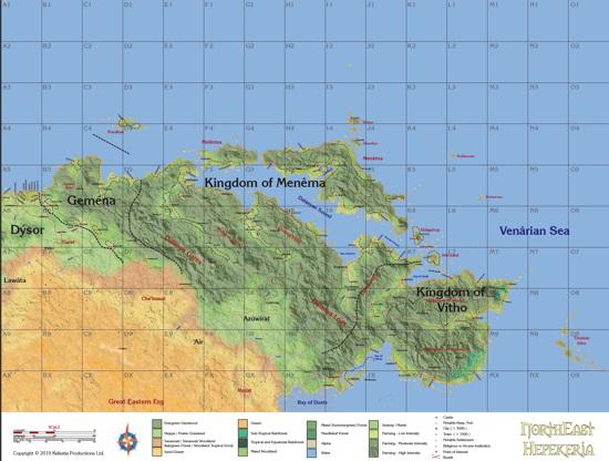 NE Hèpekéria Map