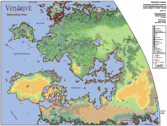 Venarive Map